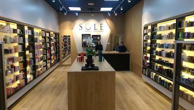 Magazin de produse de lux in Iulius Mall Cluj