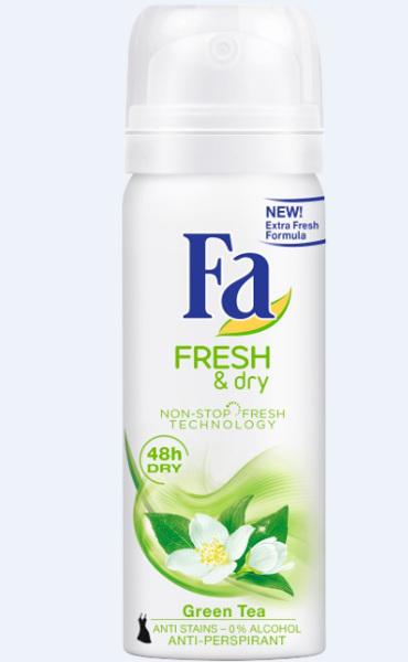 Fa Fresh & Dry, cu agenti anti-bacterieni