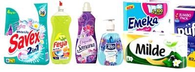 Crestere de 39% pentru brandul de detergenti Savex