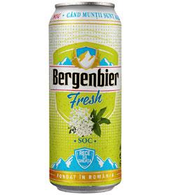 Noutati de vara Bergenbier: bere cu extras de flori de soc si ambalaje termosensibile