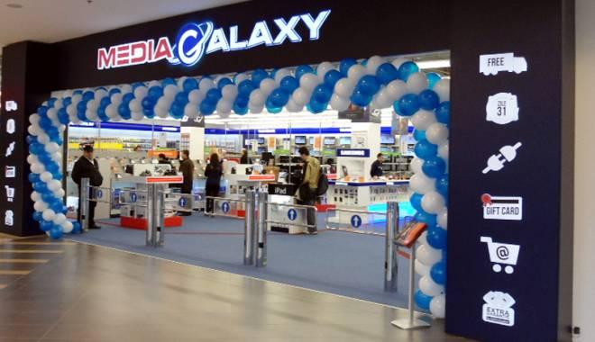 Magazinul Media Galaxy din mallul Tom Constanta, reamenajat cu 250.000 de euro