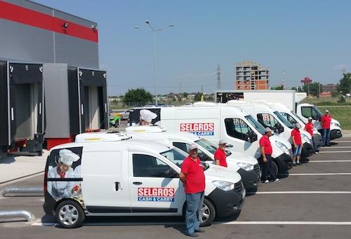 Selgros ofera pentru industria HoReCa din Bucuresti serviciul de distributie