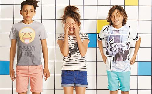 Materiale rezistente la uzura au fost folosite la colectia Marks&Spencer pentru copii