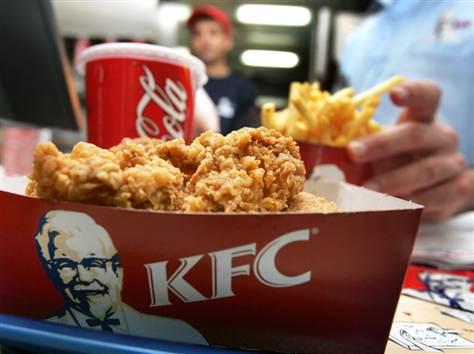KFC la Cora Lujerului