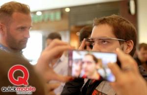 Google Glass la QuickMobile