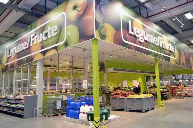 Selgros - sectiunea legume - fructe