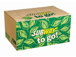 Subway to go