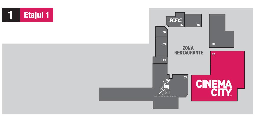 Harta etajul doi