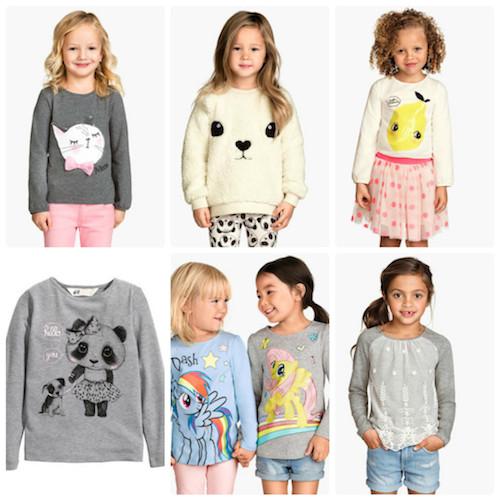 H&M pentru copii colectia primavara 2015