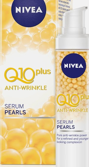 Nivea Q10 Plus Serum Pearls, o noua crema anti-rid