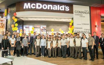 Al 70-lea McDonald's, de azi în Mega Mall