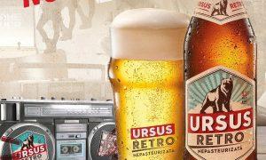 O nouă bere – Ursus Retro