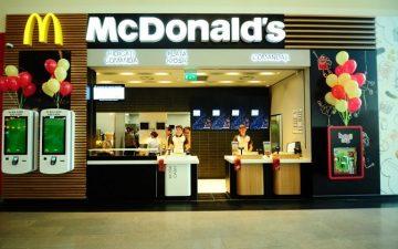 McDonald's în Brăila, la parcul de retail Penny