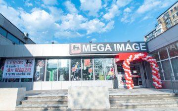 Mega Image, primul supermarket în Bacău