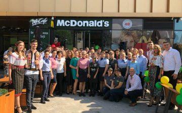 McDonald's, 80 de restaurante în România