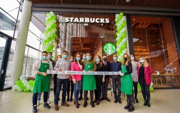 Un nou Starbucks în Brașov
